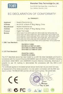 Certificate CE KEVENO