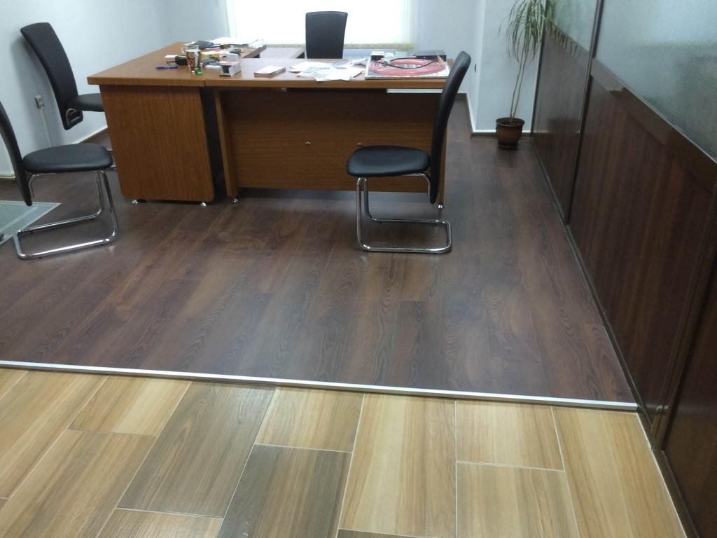 Офис с подово отопление